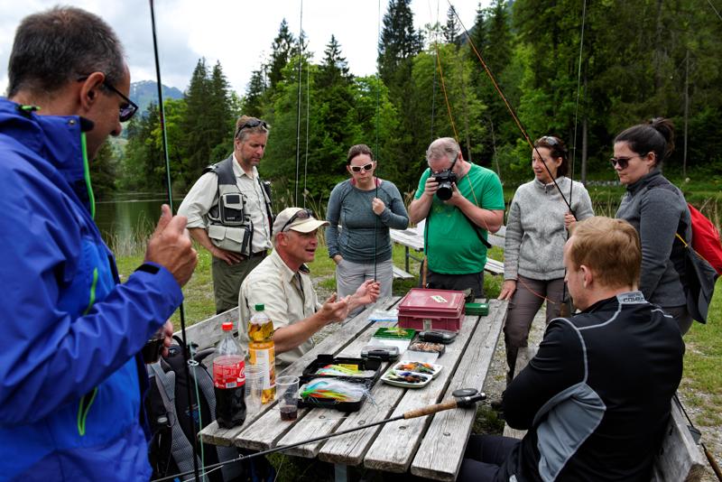 Fliegenfischen Events, Fliegenfischerevents