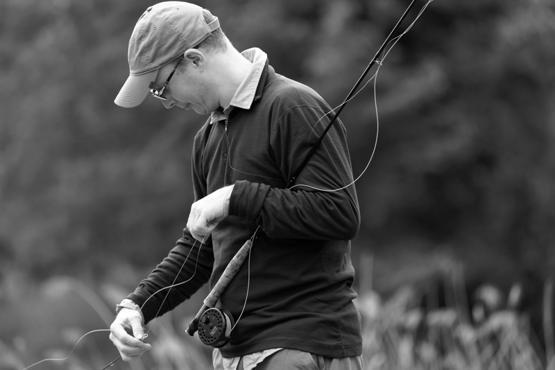 fly fishing lessons in Switzerland