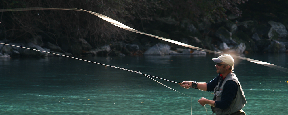 Fly fishing in switzerland trout pike barbel and chub for Fishing lessons near me