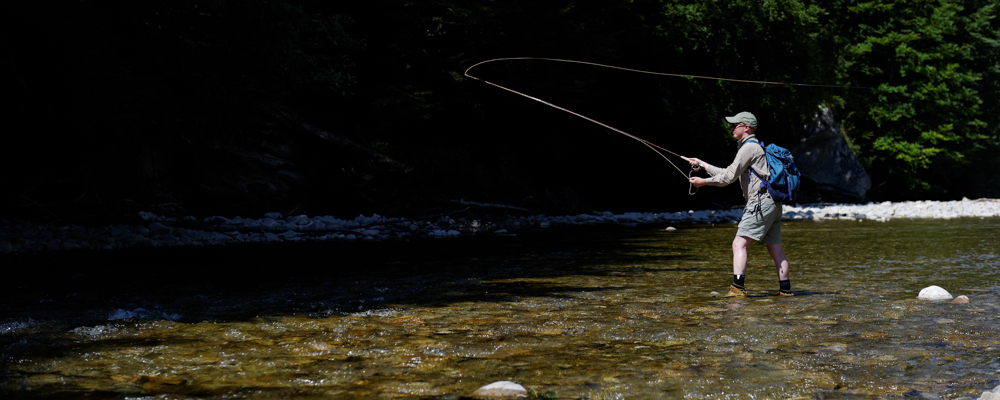 Flyfishing for Barbel & Chub in Switzerland